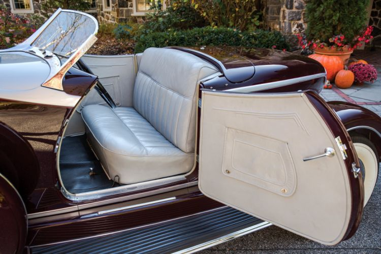 1934 Auburn V12 1250 Salon Dual Ratio Boattail Speedster retro vintage wallpaper
