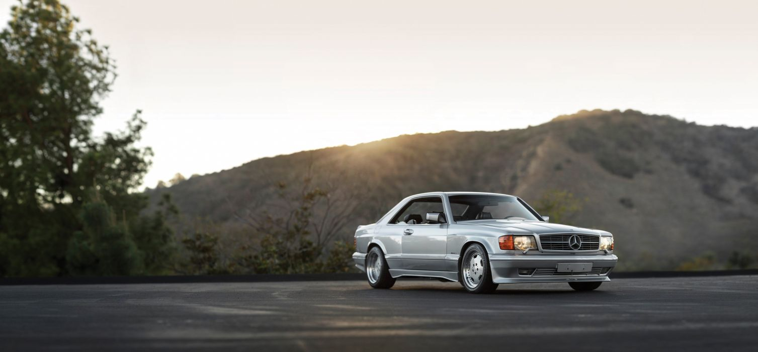 1987-89 AMG 560 SEC 6-0 Widebody mercedes benz wallpaper