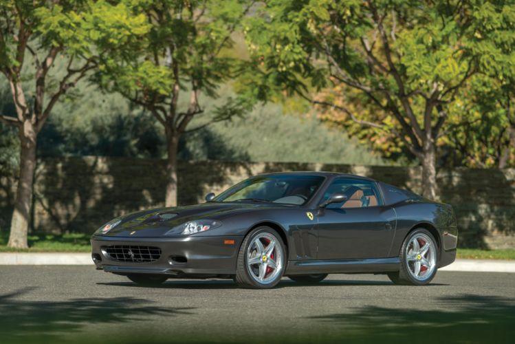 2006 Ferrari Superamerica Fiorano Pininfarina supercar wallpaper