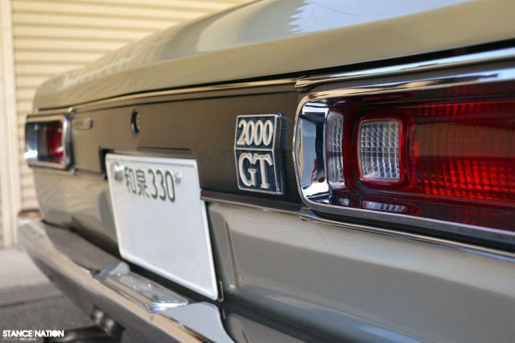 1969 Datsun GC10 Skyline tuning custom nissan 2000gt wallpaper