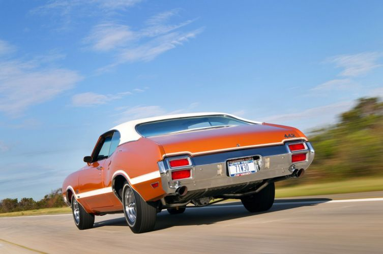 1971 Oldsmobile 442 W30 muscle classic wallpaper