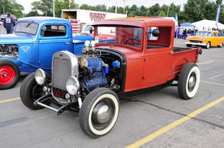 hot rod rods custom pickup wallpaper