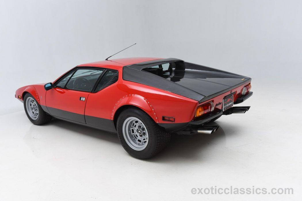 1974 DETOMASO PANTERA GTS supercar wallpaper