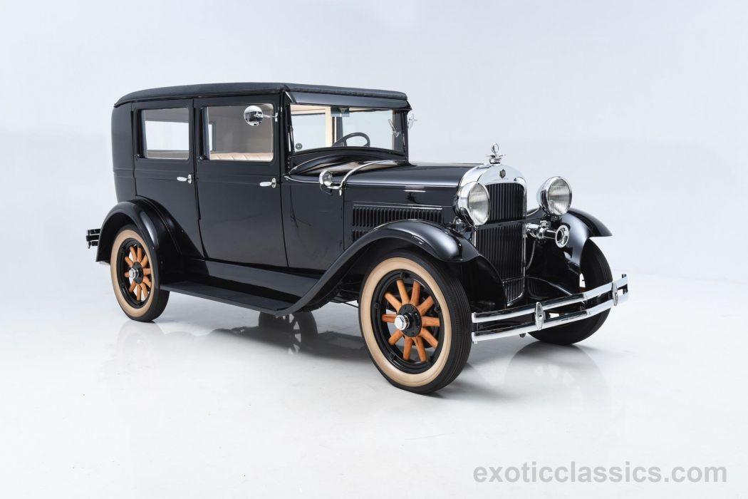 1929 ESSEX SUPER-6 retro vintage super wallpaper