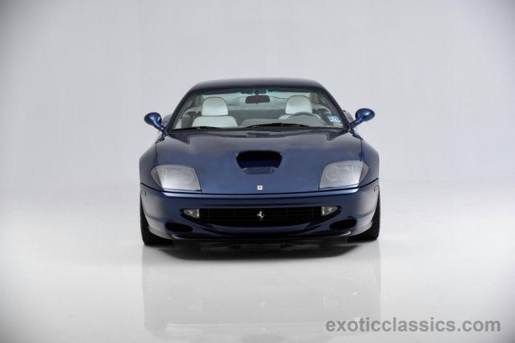 1999 FERRARI 550 MARANELLO supercar wallpaper