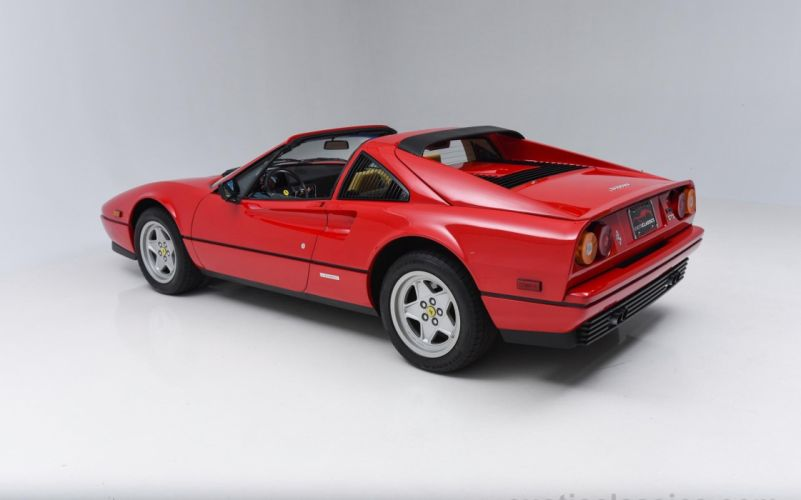 1987 FERRARI 328 GTS supercar wallpaper