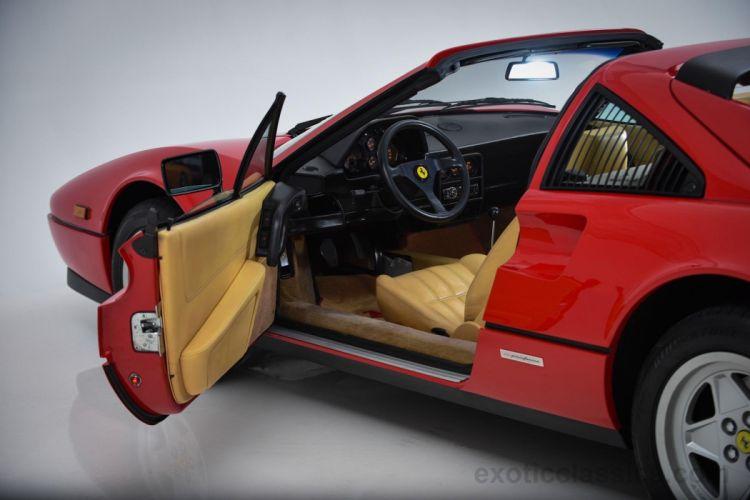1987 FERRARI 328 GTS supercar wallpaper