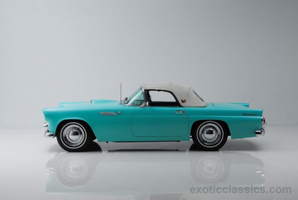 1955 FORD THUNDERBIRD retro convertible wallpaper