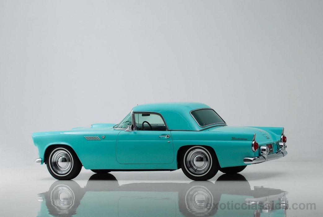 1955 FORD THUNDERBIRD retro convertible wallpaper