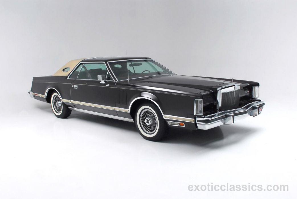 1978 LINCOLN MARK-V luxury classic mark wallpaper