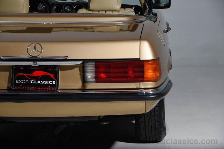 1984 MERCEDES BENZ 280SL convertible wallpaper