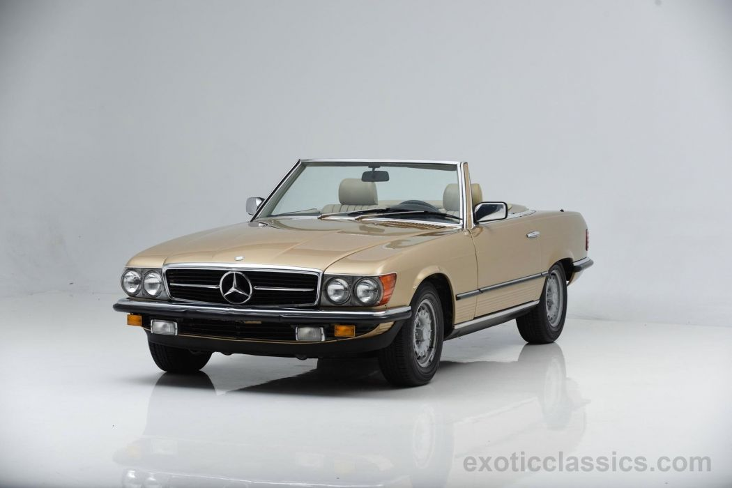 1984 MERCEDES BENZ 280SL convertible wallpaper