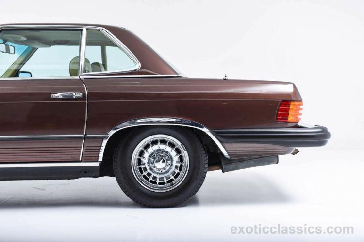 1980 MERCEDES BENZ 450SL convertible wallpaper