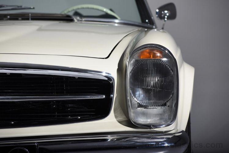 1967 MERCEDES BENZ 230SL classic convertible wallpaper