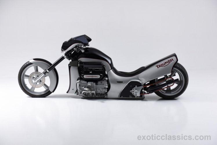 2005 TRIUMPH 991 chopper hot rod rods bike motorbike wallpaper