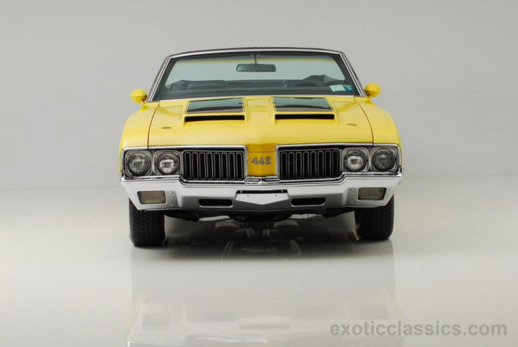 1970 OLDSMOBILE 442 convertible muscle classic wallpaper