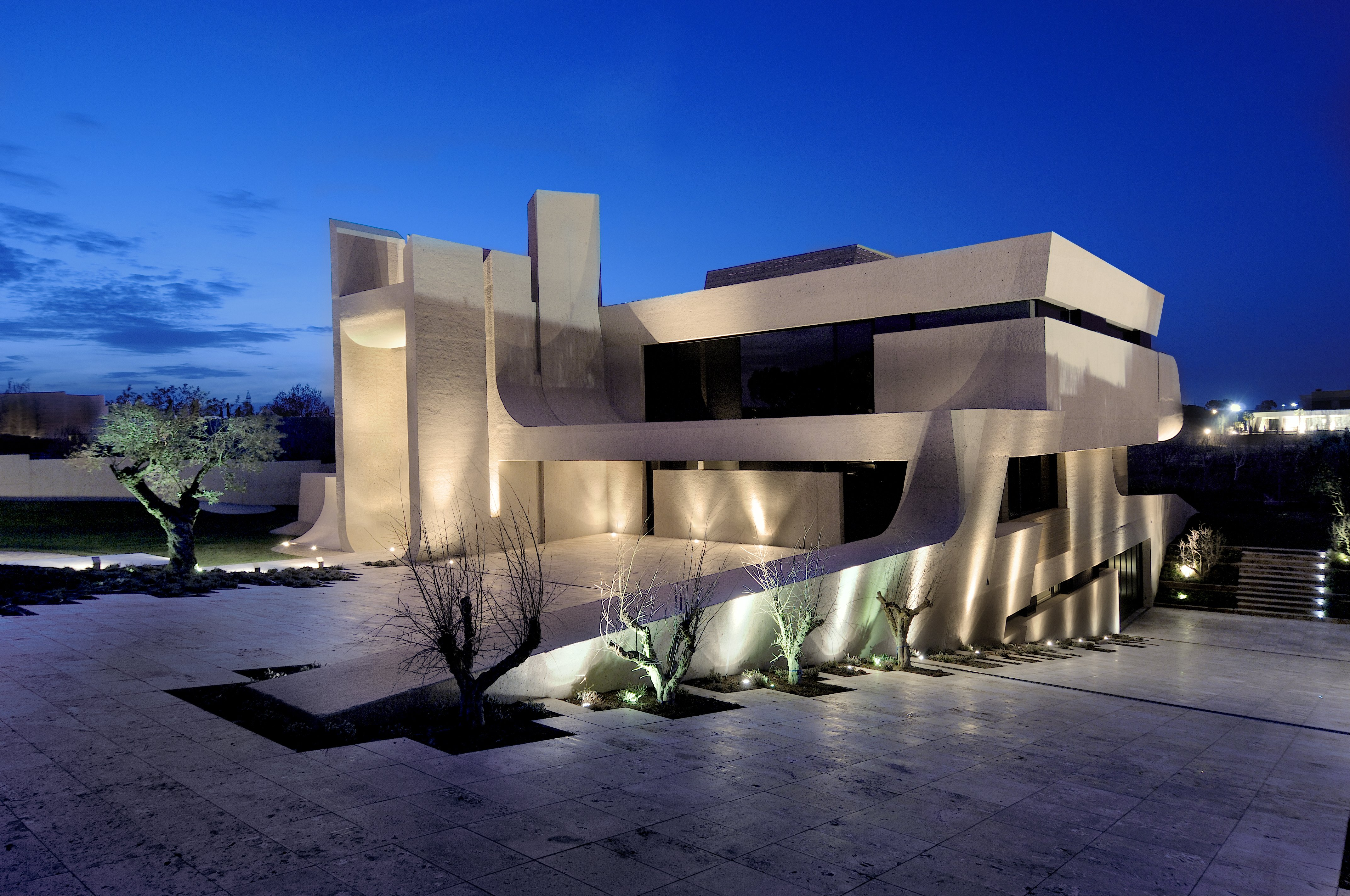 casa moderna arquitectura wallpaper 4288x2848 853720