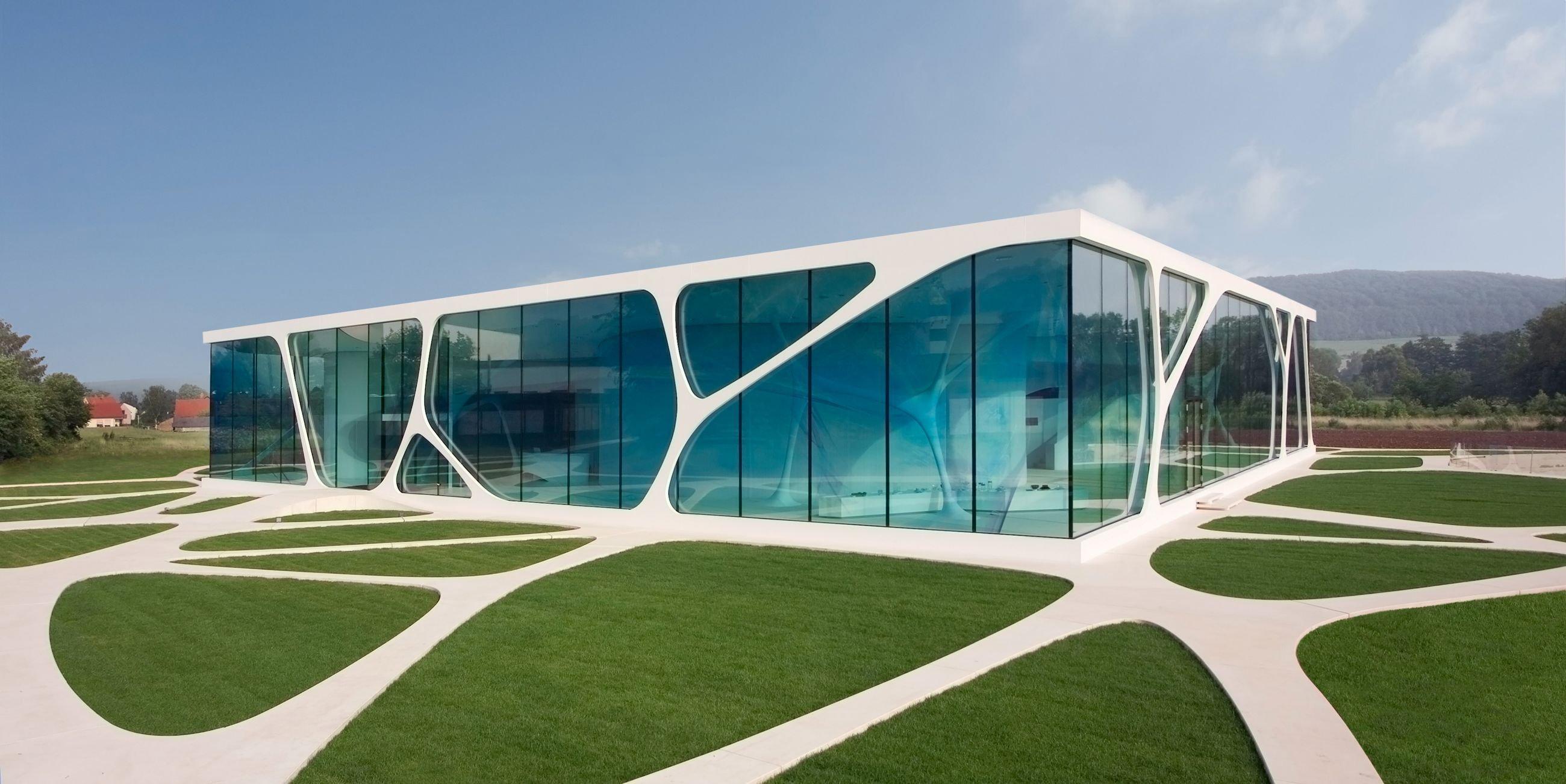 Arquitectura moderna casa cristal wallpaper 2600x1302 for Casa moderna wallpaper