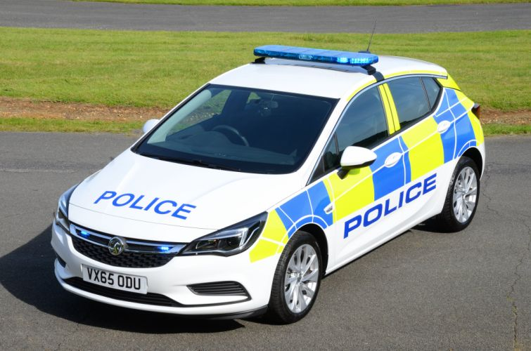 2015 Vauxhall Astra Police emergency wallpaper