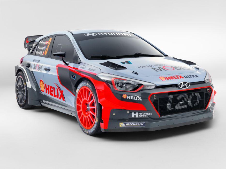 2016 Hyundai i20 WRC I-B race racing rally wallpaper