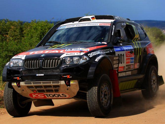 2006 BMW X-3 C-C E83 Dakar race racing rally offroad suv wallpaper