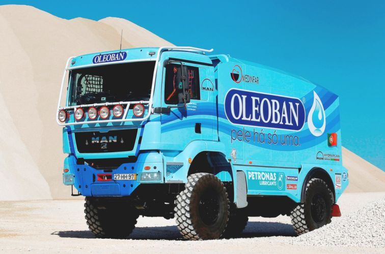 2012 MAN TGS 18-480 Rally Truck race racing Dakar semi tractor offroad wallpaper