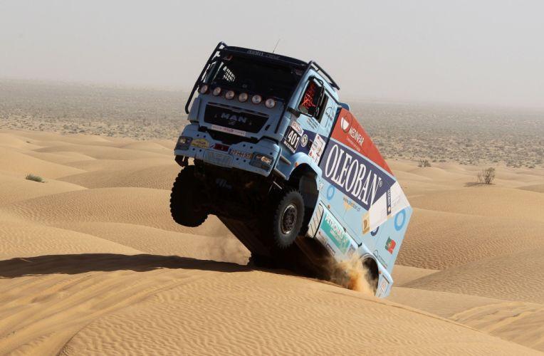 2010 MAN TGS 18-480 Rally Truck semi tractor dakar race racing offroad 4x4 wallpaper