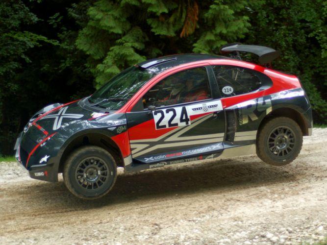 2007 DJM Motorsport McRae R-4 rally race racing wallpaper
