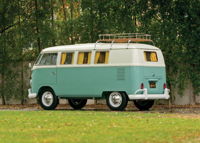 1962 Volkswagen Typ-2 Westfalia Camper T-1 van classic motorhome wallpaper