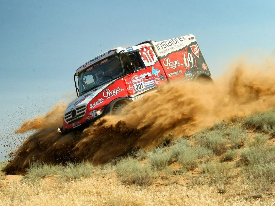 2014 Tatra Yamal Queen 6-9 EVO-II semi tractor rally offroad race racing wallpaper