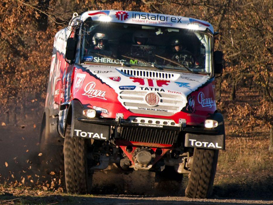 2014 Tatra Yamal Queen 6-9 EVO-II semi tractor rally offroad race racing wallpaper