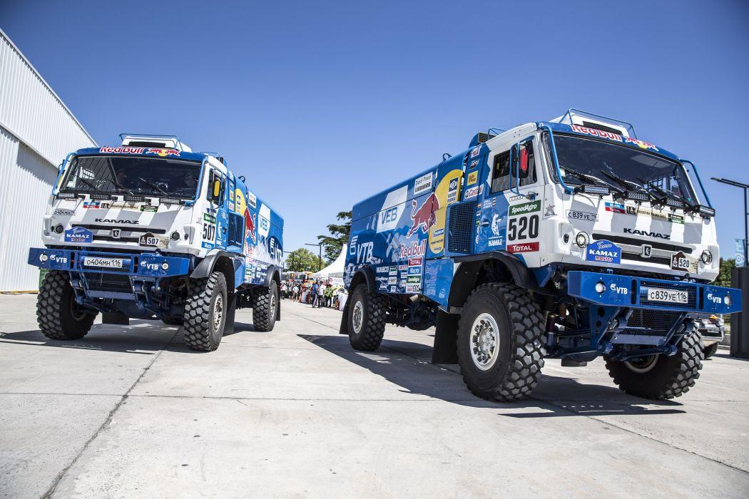2015 Kamaz 4326-9 V-K semi tractor rally dakar semi tractor offroasd race racing 4x4 wallpaper