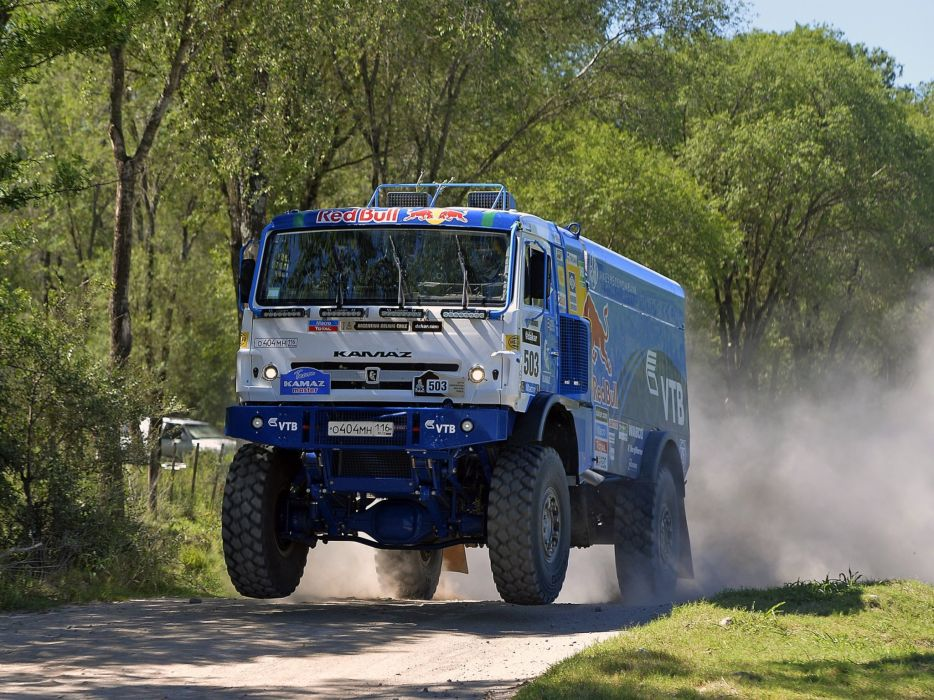2015 Kamaz 4326-9 V-K semi tractor rally dakar semi tractor offroasd race racing 4x4 wallpaper