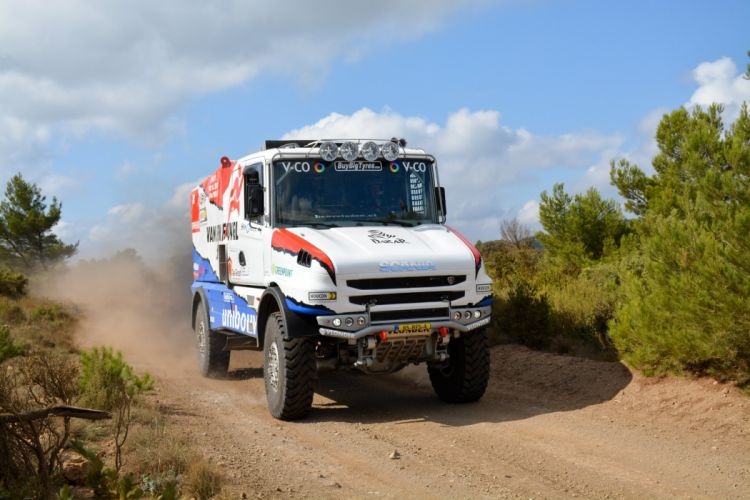 2015 Scania Torpedo T-4 Rallytruck rally dakar semi tractor offroad race racing wallpaper