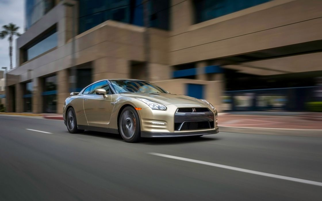 2016 Nissan GT-R 45th Anniversary Gold Edition gtr supercar wallpaper