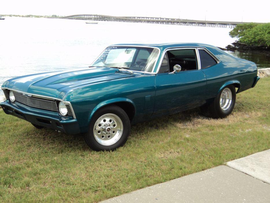 1969 Chevrolet Nova muscle classic hot rod rods wallpaper