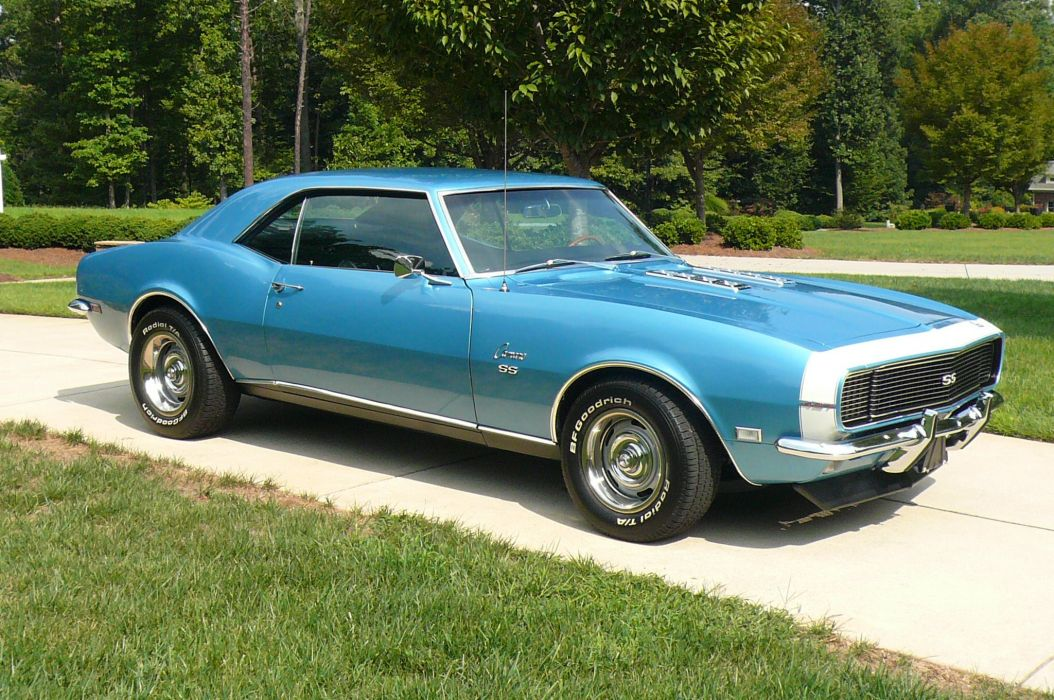 1968 Chevrolet Camaro S-S 427 muscle classic wallpaper