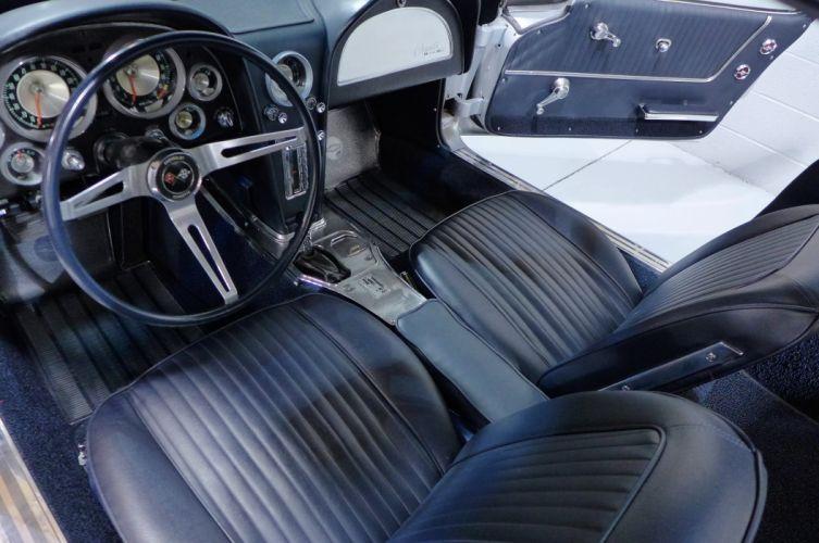 1963 Chevrolet Corvette Stingray muscle classic supercar wallpaper
