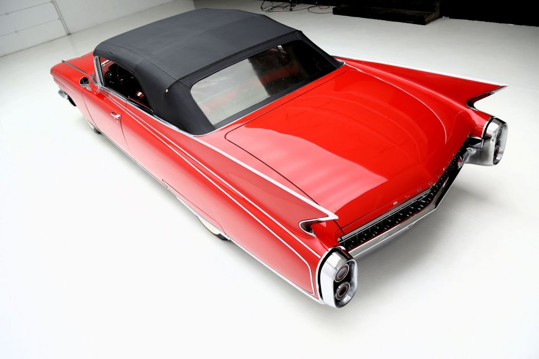 1960 CADILLAC ELDORADO BIARRITZ CONVERTIBLE luxury classic wallpaper