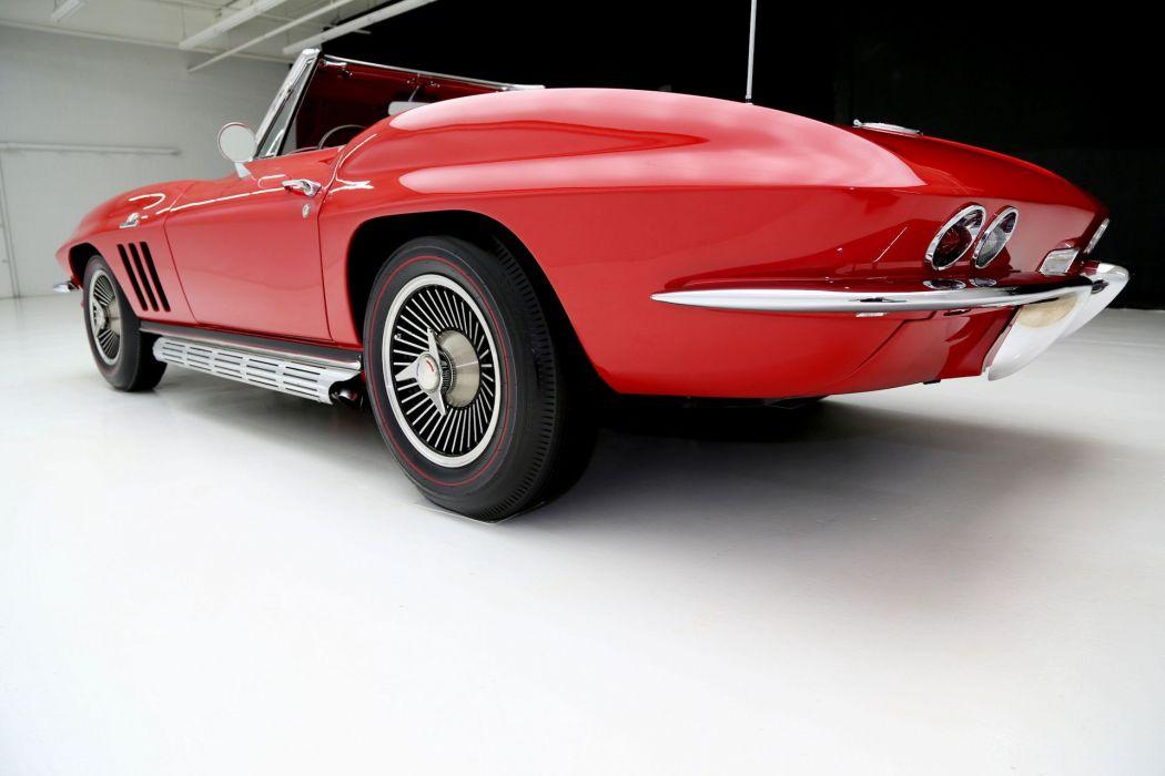1966 CHEVROLET CORVETTE 427 convertible muscle supercar classic wallpaper
