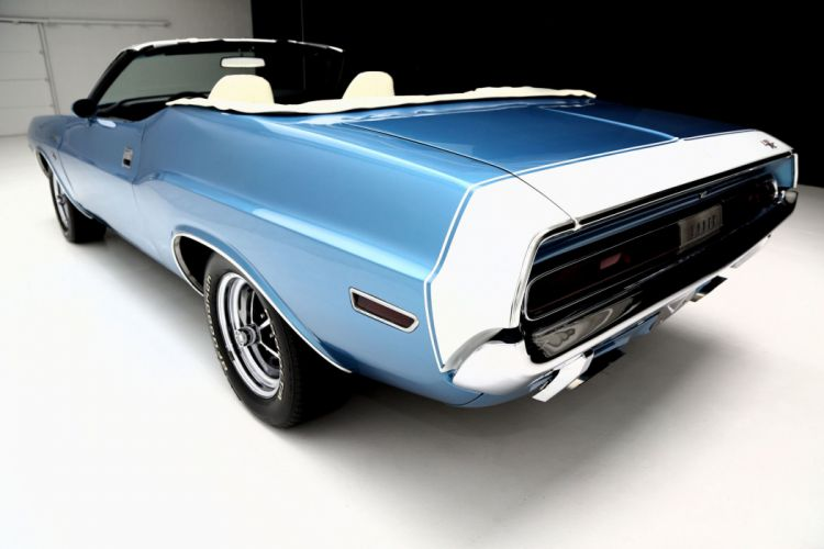 1970 DODGE CHALLENGER R-T CONVERTIBLE muscle mopar classic wallpaper