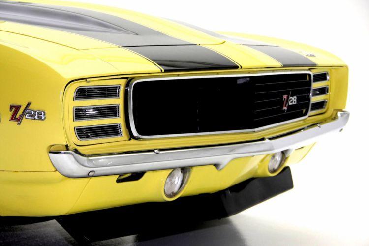 1969 CHEVROLET CAMARO R-S Z28 X33 muscle classic wallpaper