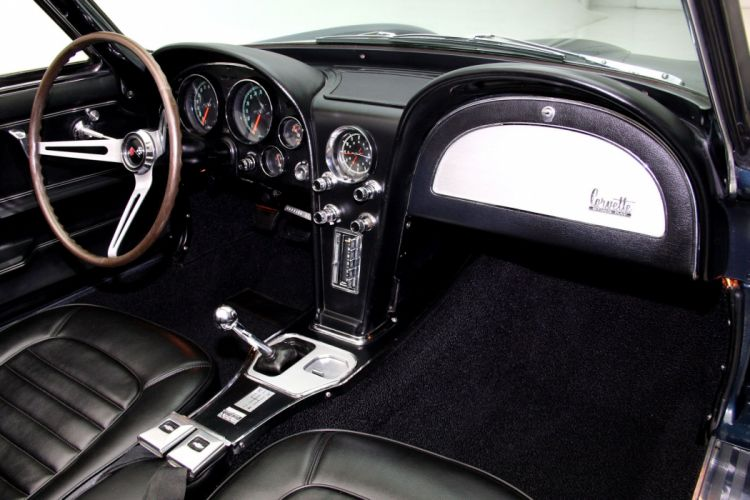 1966 CHEVROLET CORVETTE 327 ROADSTER muscle supercar classic convertible wallpaper