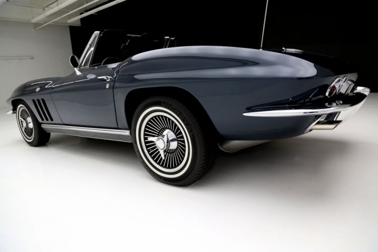 1966 CHEVROLET CORVETTE 327 ROADSTER muscle supercar classic convertible wallpaper