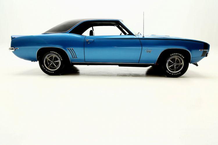 1969 CHEVROLET CAMARO X66 S-S muscle classic wallpaper