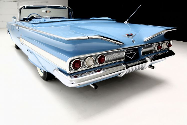 1960 CHEVROLET IMPALA CONVERTIBLE muscle classic wallpaper