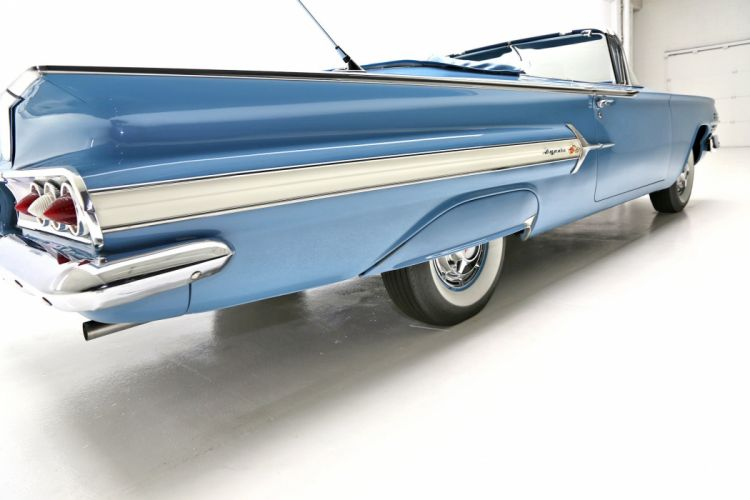 1960 CHEVROLET IMPALA CONVERTIBLE muscle classic wallpaper