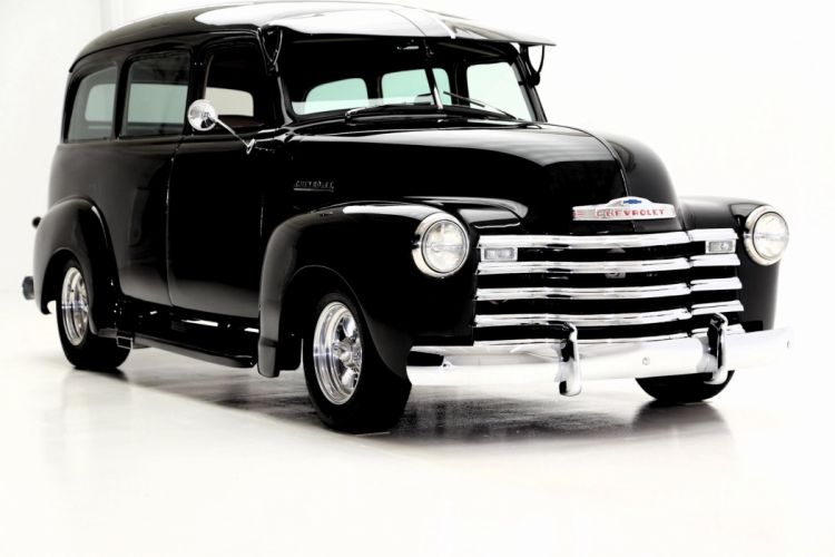 1951 CHEVROLET SUBURBAN 3100 350 suv custom hot rod rods stationwagon retro wallpaper