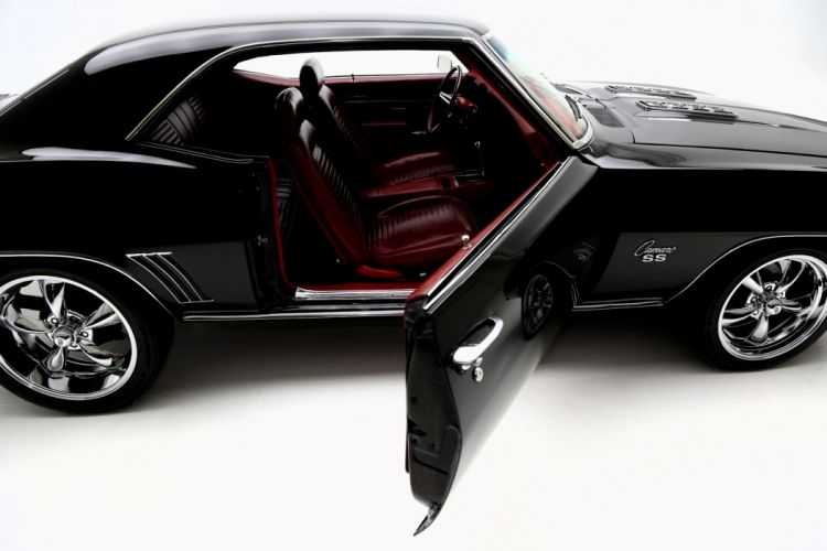 1969 CHEVROLET CAMARO R-S S-S 396 muscle classic hot rod rods wallpaper