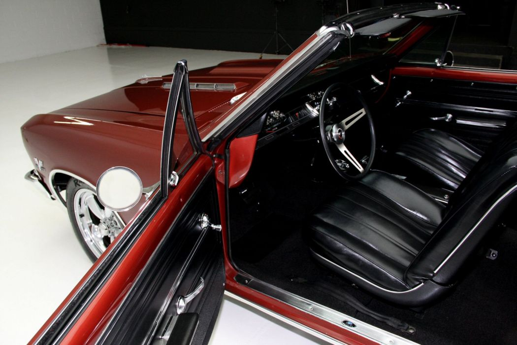 1966 CHEVROLET CHEVELLE SS CONVERTIBLE 396 muscle classic wallpaper